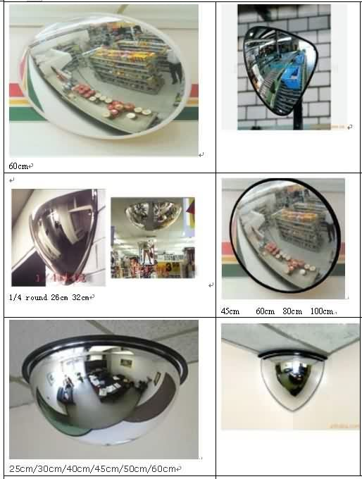 anti-theft Convex mirror
